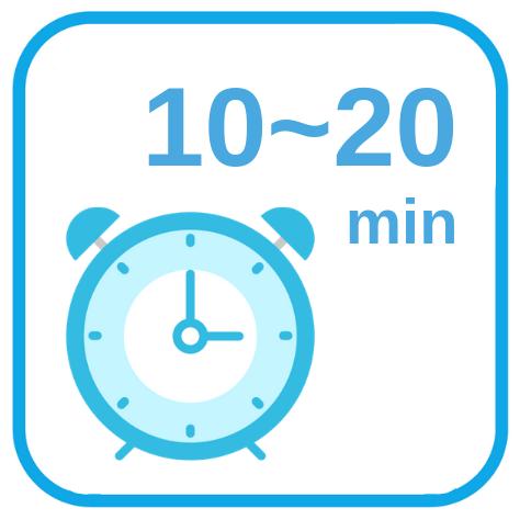 精液が液状化するまで10~20分待つ
