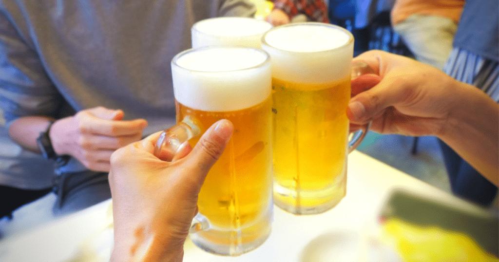 男性不妊対策7:お酒の飲み過ぎ注意
